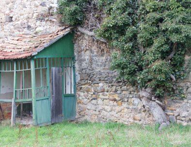 Gartenhaus an der Stadtmauer