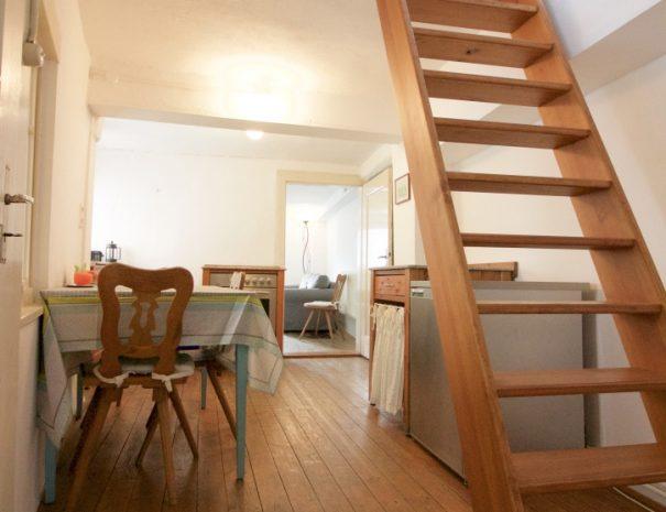 Die Treppe zumDachzimmer
